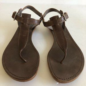 Sigerson Morrison Womens T-Strap Sandals 7.5